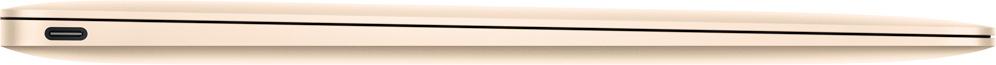 New MacBook one USB-C port