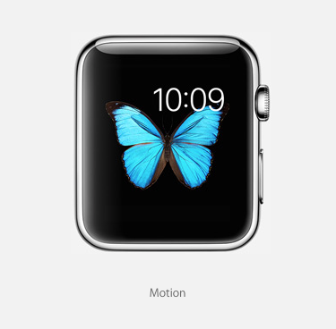 Motion Face for Apple Watch