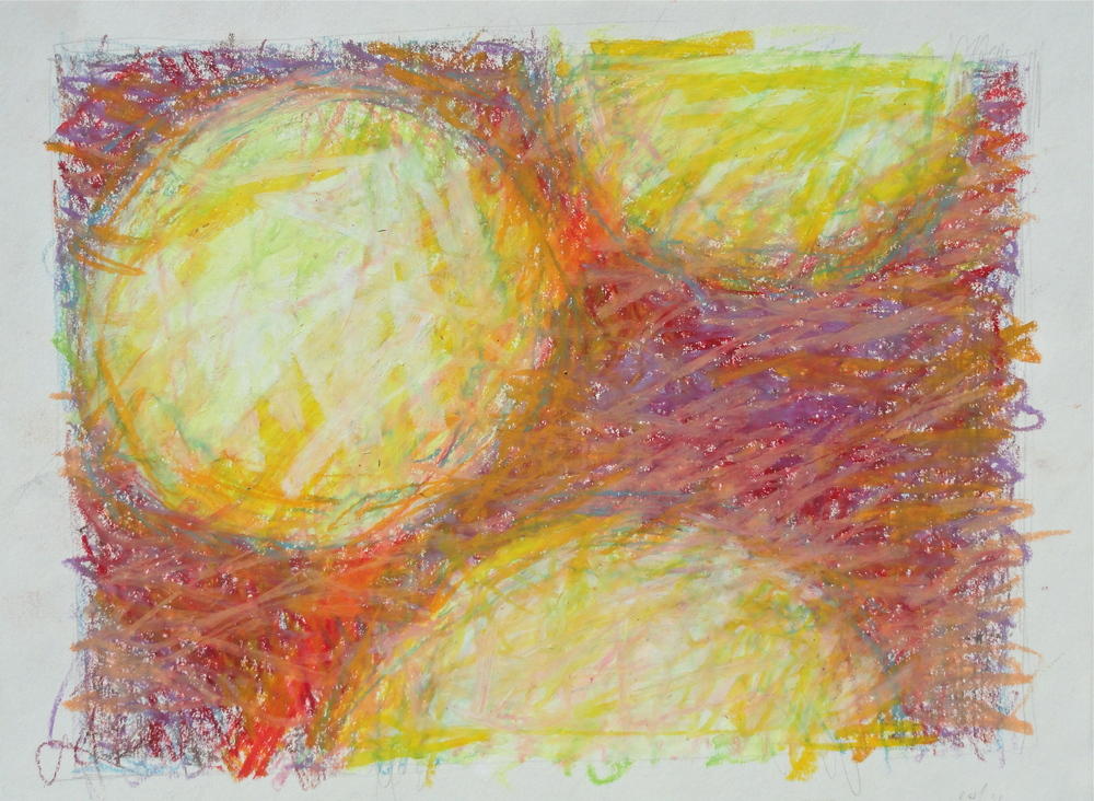 "7 1/2 x 10"" oil pastel 2012"
