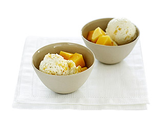 Coconut Mango Icecream