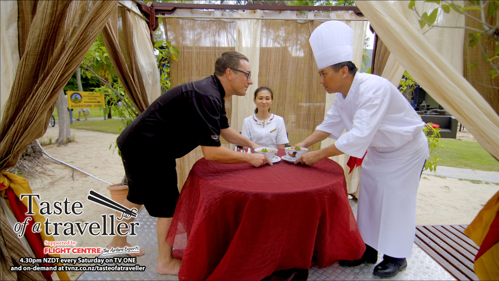 Catch the full episode and watch as Brett takes on local Penang Masterchef