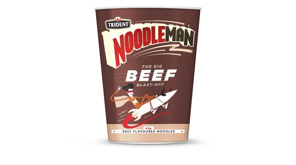 Noodleman Beef Noodle Cup