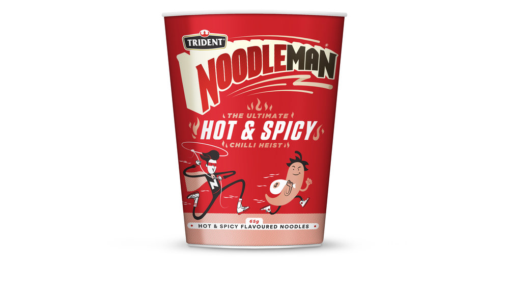 Noodleman Hot n spicy noodle cup