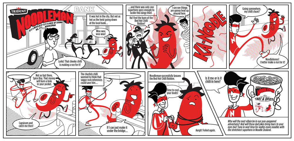 noodleman hot n spicy comic