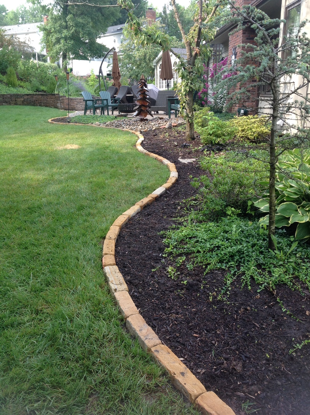 Brick Edging Pavers