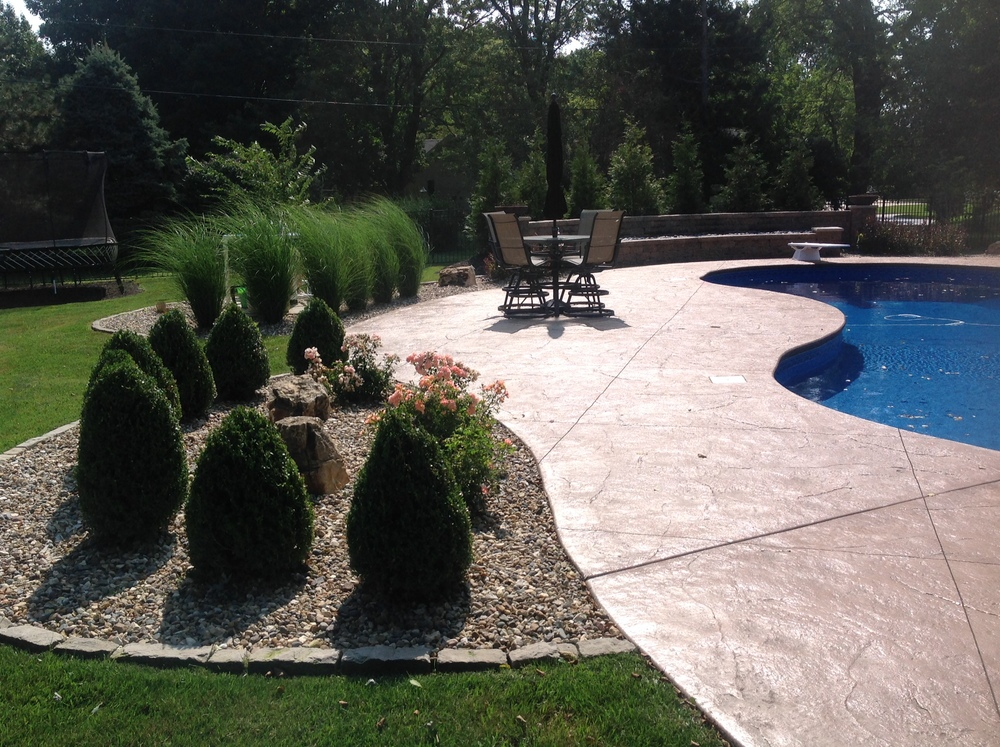 Pool Landscape Design St. Louis