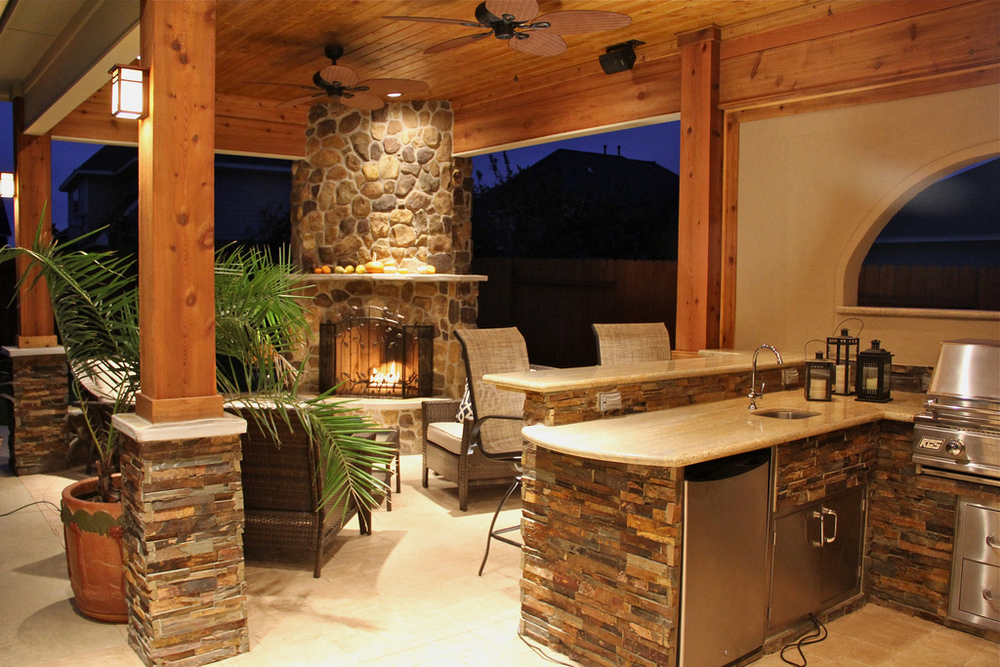 Outdoor Kitchen Patio St Louis