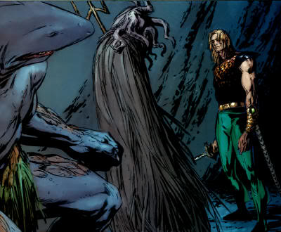 King Shark, dweller in the depths, and arthur joseph curry.