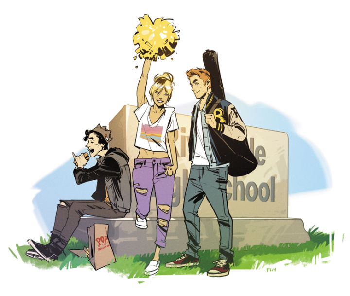 Promotional image courtesy of Archie Comics