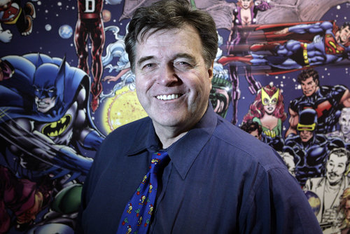 Neal Adams, photo courtesy of the NY Post