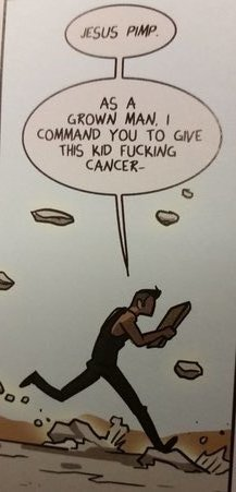 blaise has a way with words (courtesy Image Comics)