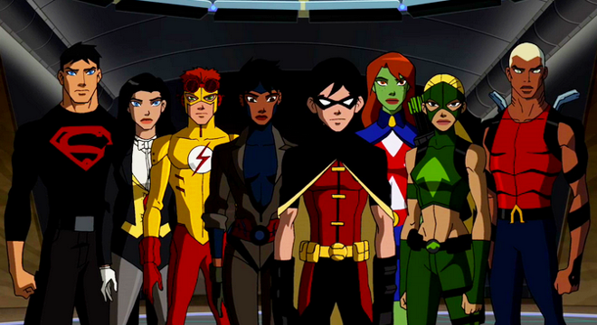 Young Justice fan? Thank Peter David (Image courtesy Cartoon Network)