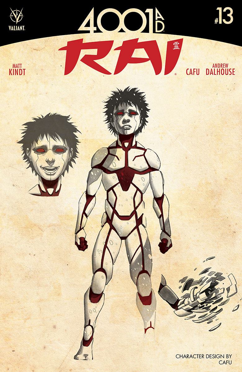 RAI #13 CAFU Character Design Variant Cover (courtesy of Valiant Entertainment)