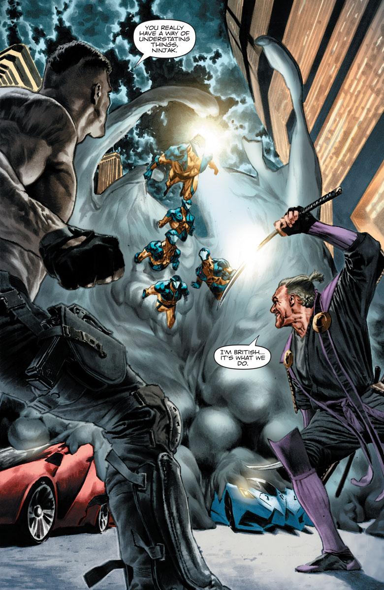 Bloodshot Reborn #13 Courtesy of Valiant Entertainment