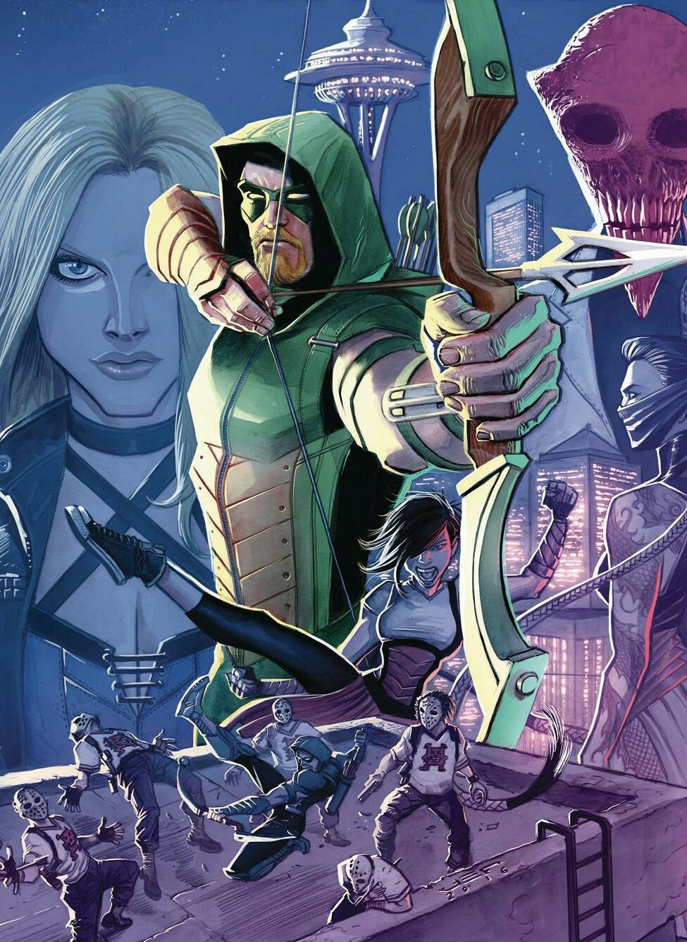 Green Arrow #1 cover art
