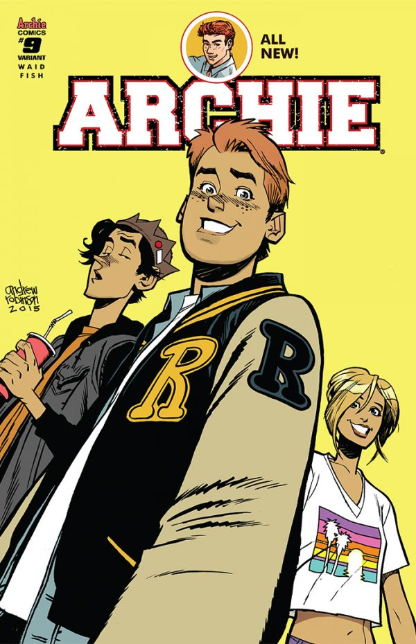 Archie #9 Cover C Variant by Andrew Robinson