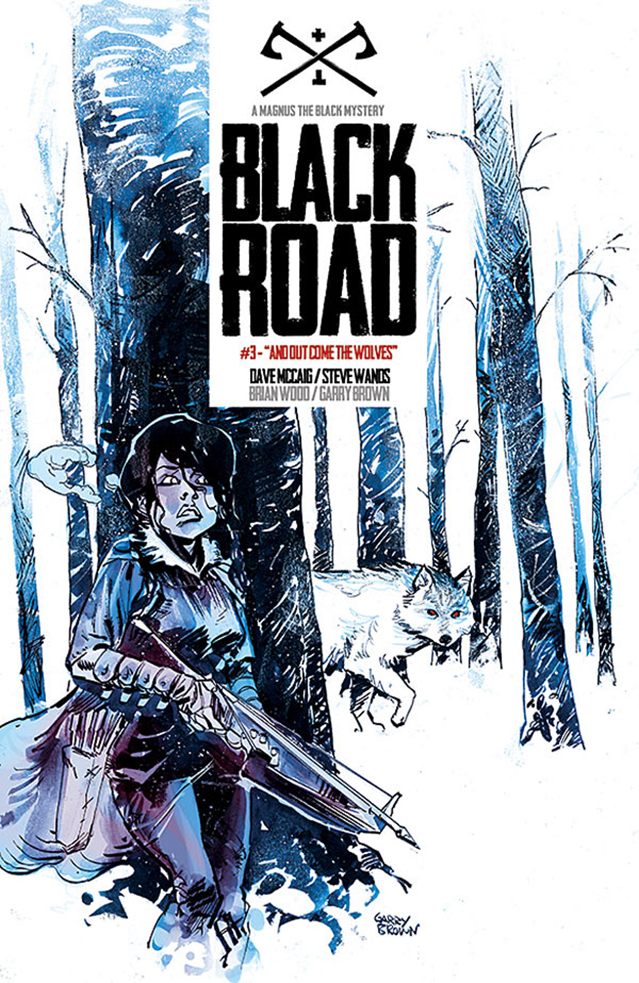 Black Road #3 cover by Garry Brown