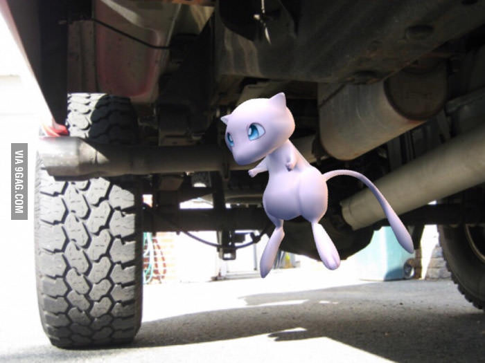 Word is, Mew will spawn under a truck.