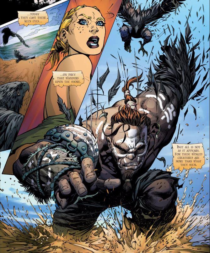By Odin's Raven... it's Giant!