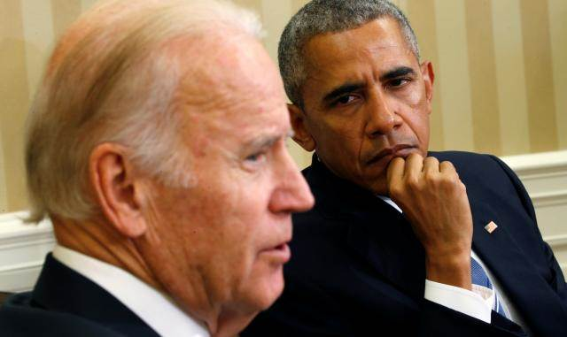 Obama:  Your superiors are sending you to certain death for no good reason. You have a right to disobey.  Biden:  We can disobey suicidal orders? Why wasn't I told?