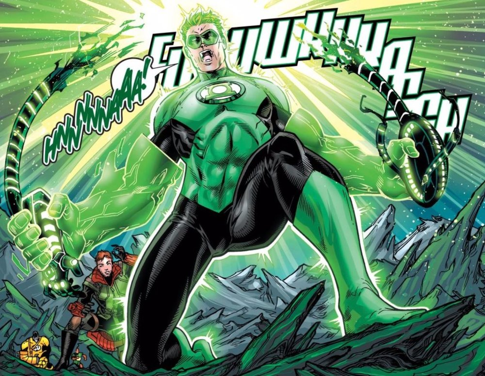You gave that thing sentience and you rip it in half? You're a monster Hal Jordan.