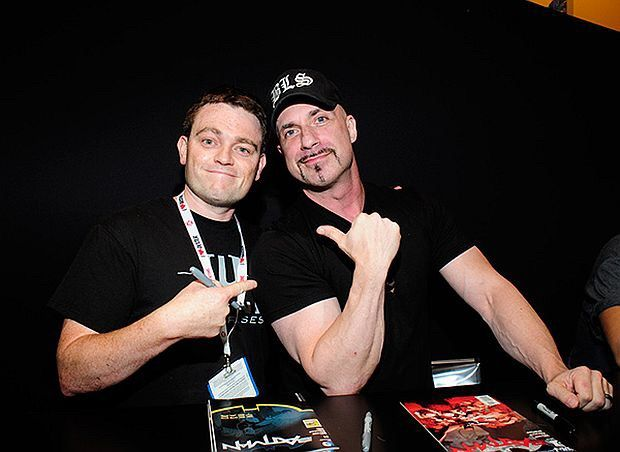 Scott Snyder (left) and Greg Capullo