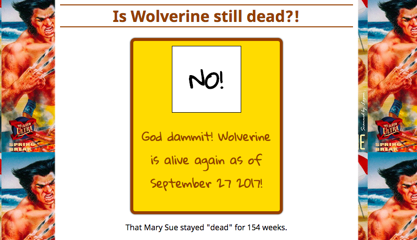 Is Wolverine Still Dead.com   Your Guide to Dealing With the Death of Wolverine.png