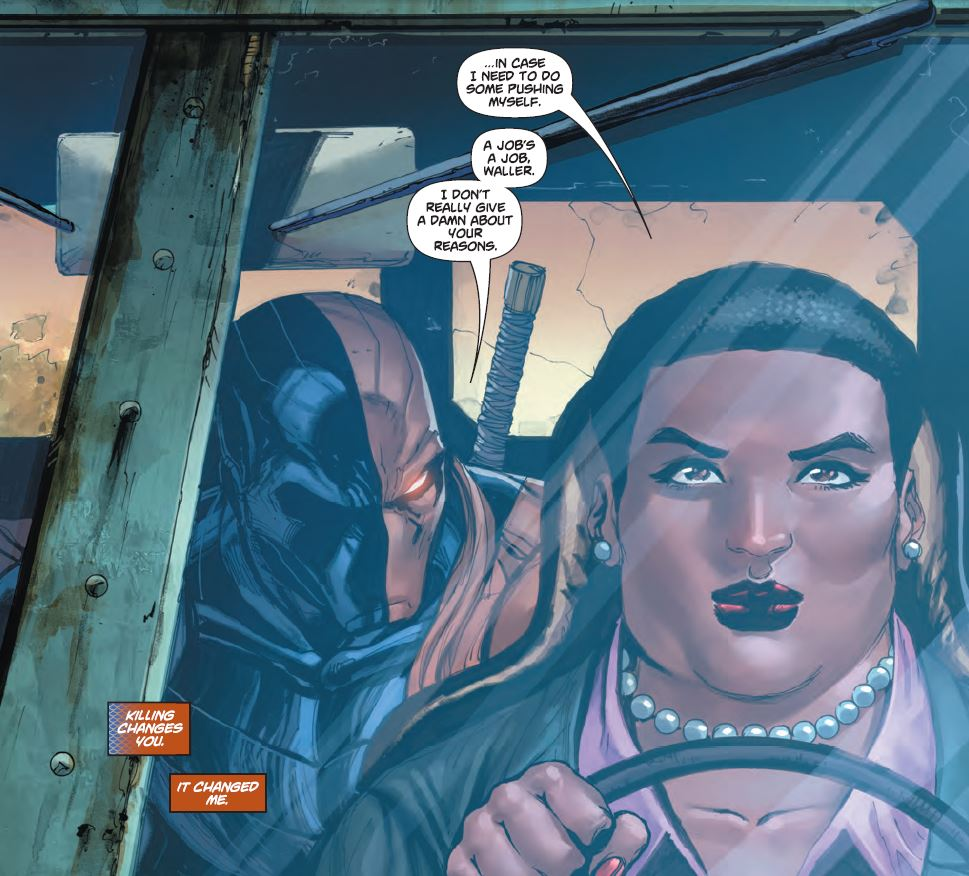 It's nice to have large Amanda Waller back.