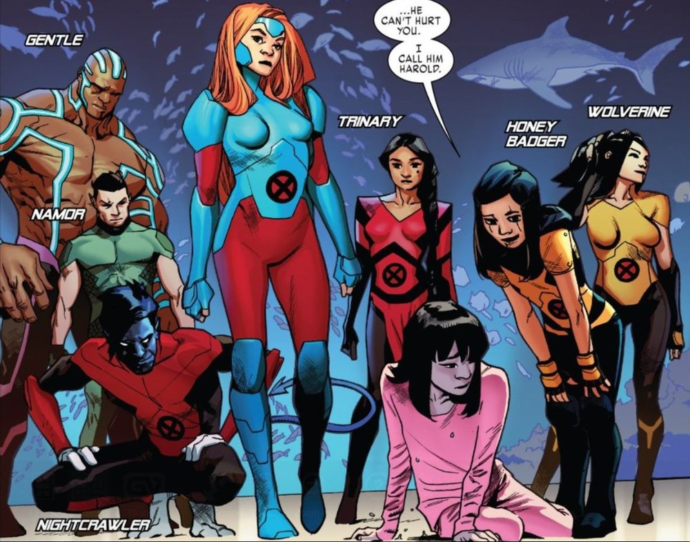 I'm not sure how I feel about Marvel Girl's.... I mean Phoenix's... I mean Jean's outfit