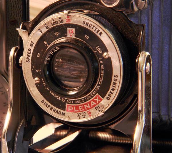 My Agfa Plenax PD16 camera (ca 1935).