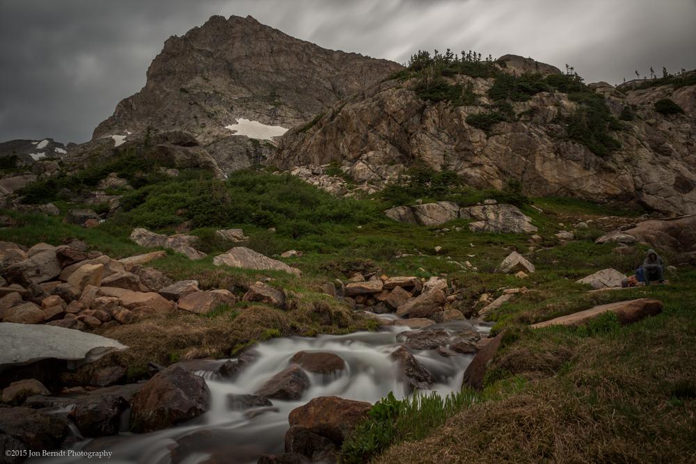 """Shoshoni Peak"" (C) Jon Berndt Photography. Beyond Lake Isabelle on the way up towards Shoshoni and Apache Peaks one passes beyond the tree line."