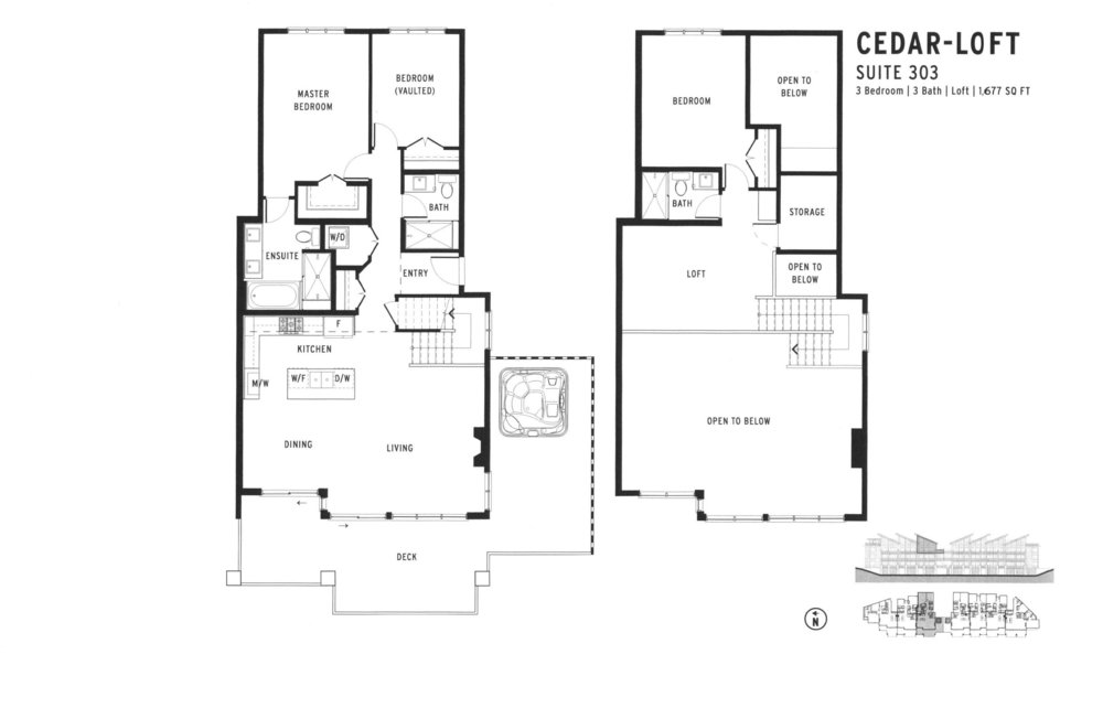 Copy of 303 - CEDAR-LOFT - $ 1,699,900