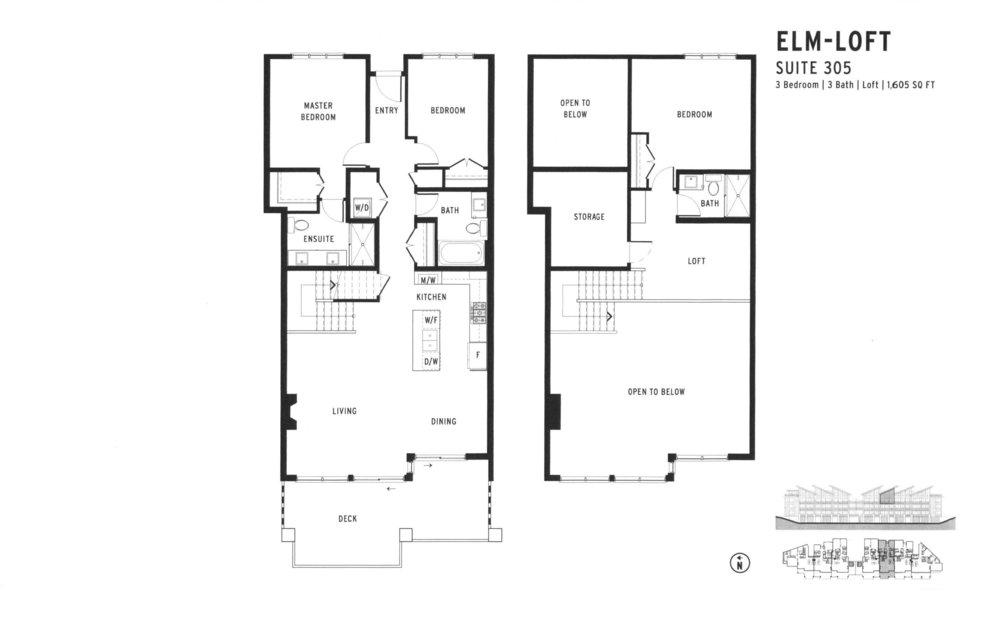 Copy of 305 - ELM-LOFT - $ 1,599,900