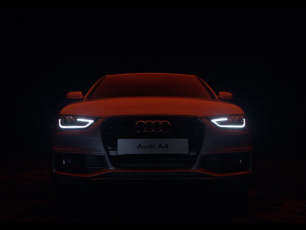 AUDI  The dark side of retail.