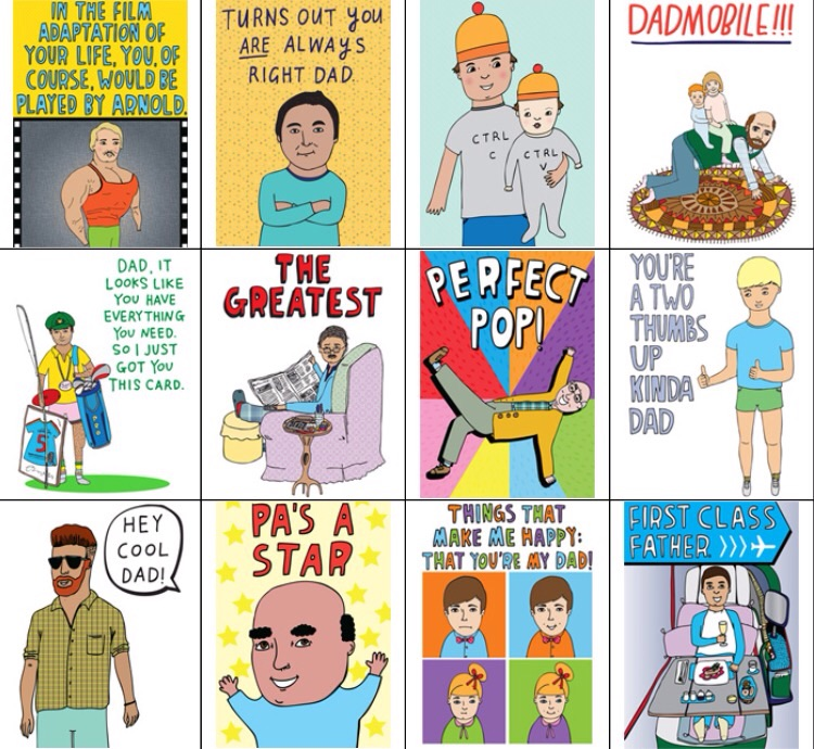 These guys make the coolest cards. Look no further, there's one for every kind of Dad.