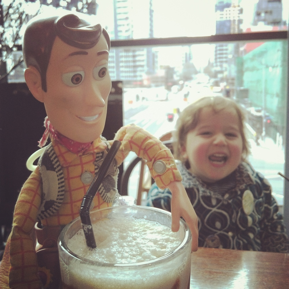 *All shakes are approved by Woody.
