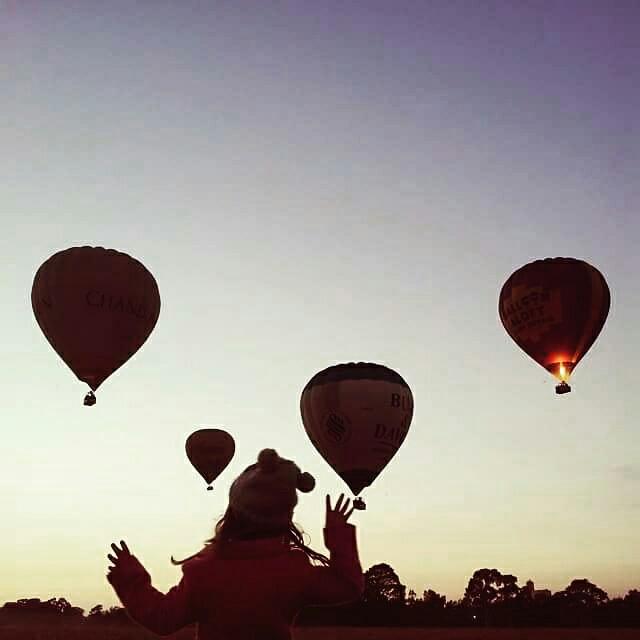 Royal Park Balloon Spotting. Get up early and watch Melbourne's famous hot air balloons take off. It's always from a different spot depending on the weather but Royal Park in a regular launch site. Read our tips for balloon spotting  here .