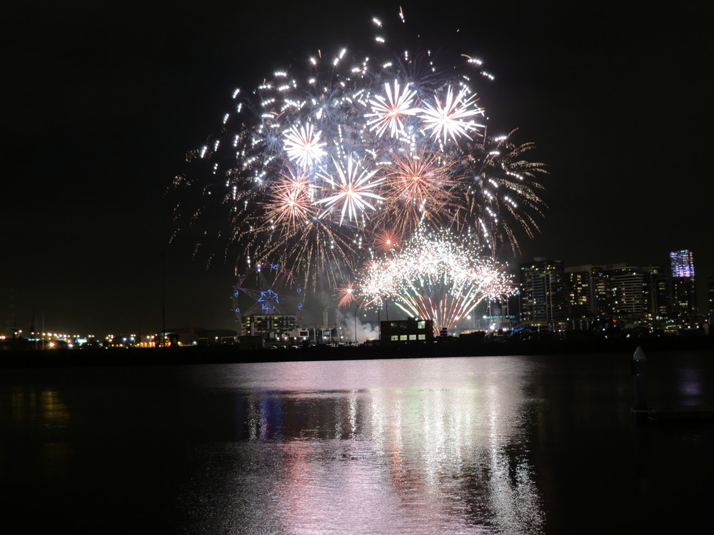 Bonus one: 11. The  Docklands Fireworks . Weekly fireworks shows in July and August.