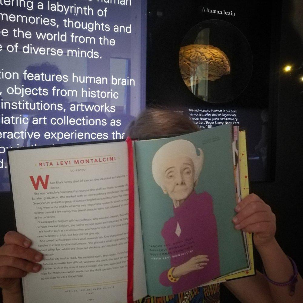 Melbourne Museum, Rita Levi Montalcini