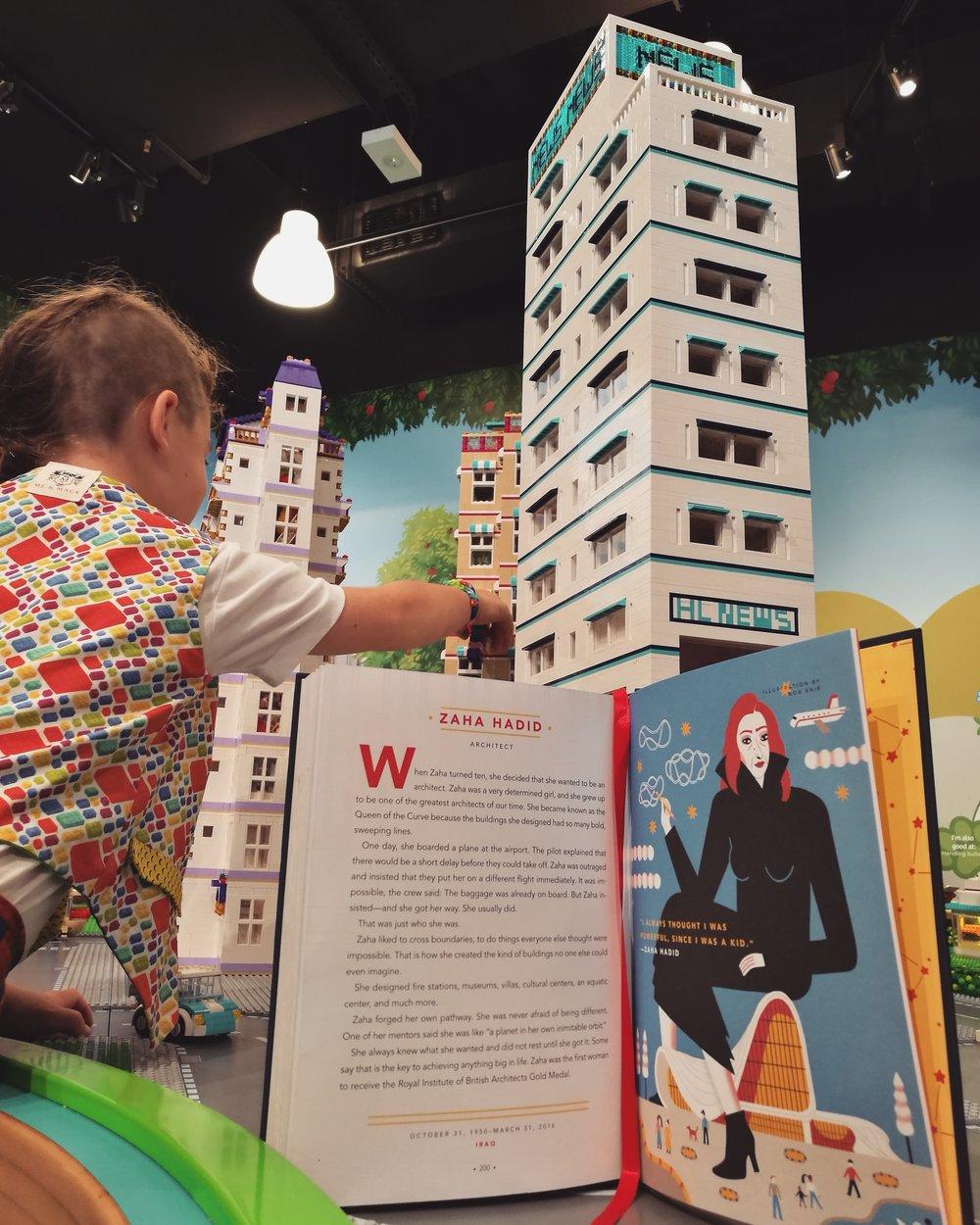 Legoland Discovery Centre, Zara Hadid