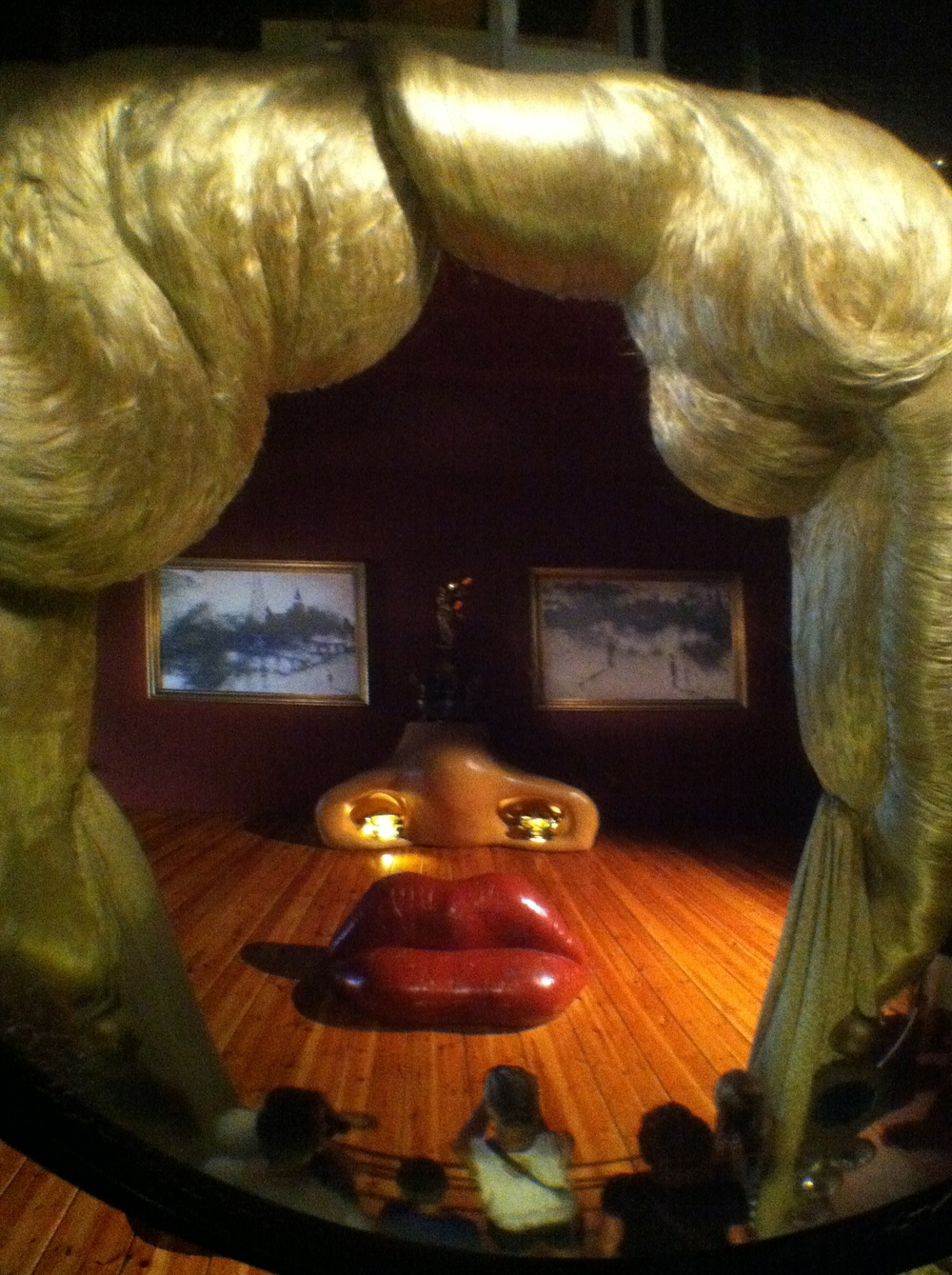 ...But good luck trying to look into THESE eyes! (Dali museum)