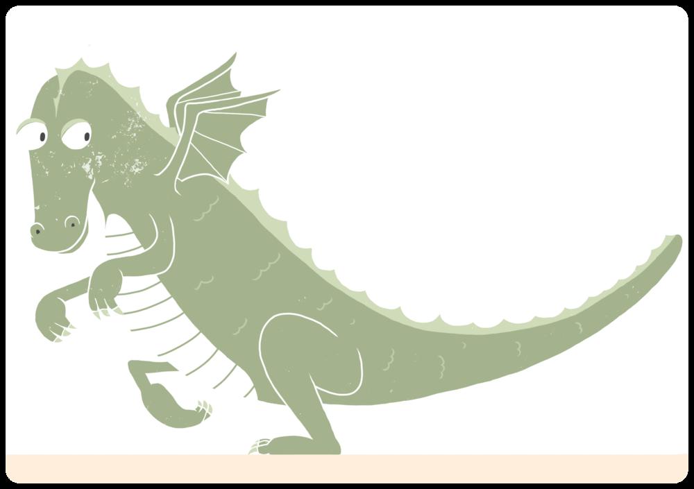 Sneaky dragon