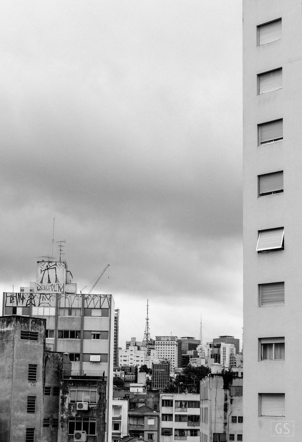 Da janela. Bela Vista, São Paulo. 2015
