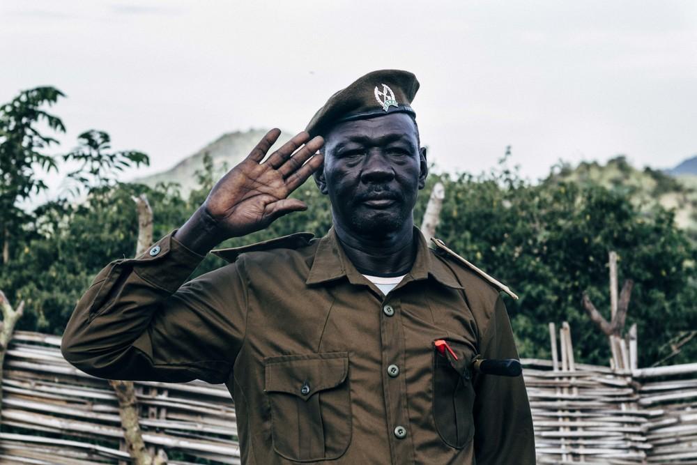 Archangelo Opeioc. Ohilang, South Sudan, 2014.