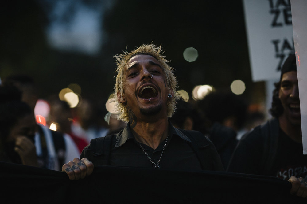 Ato Tarifa Zero. São Paulo, SP. Out 2016.