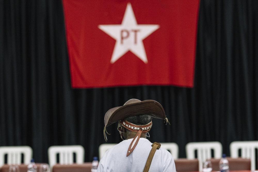 37 anos do Partido dos Trabalhadores, em São Paulo. 2017.