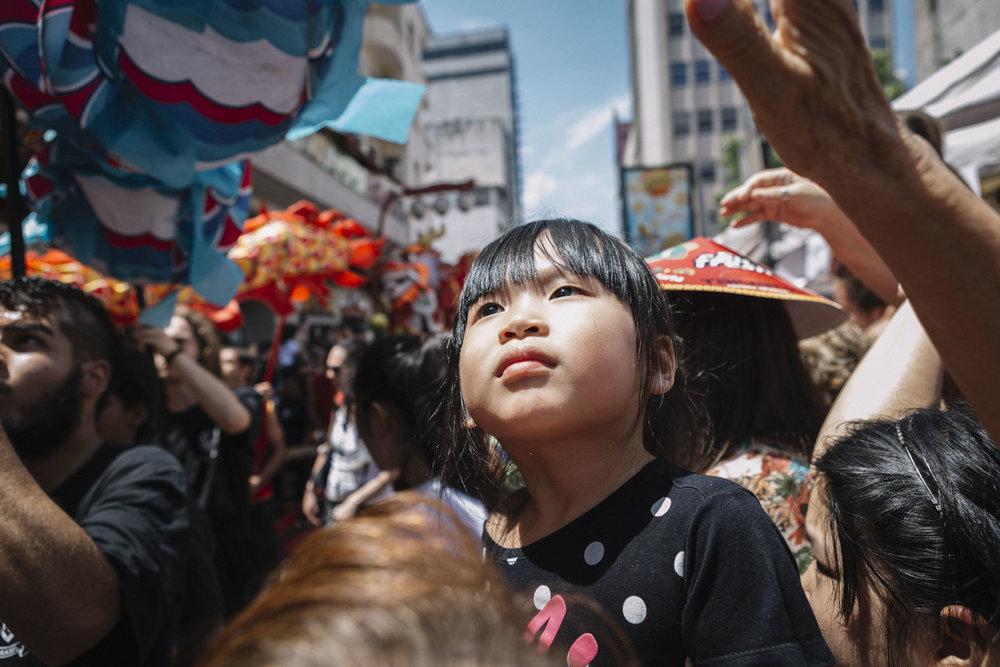 Ano Novo Chinês, em São Paulo. Janeiro, 2017.