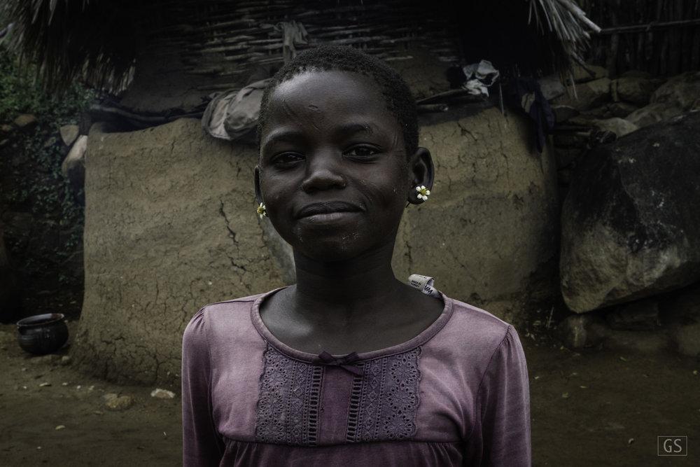 Ohilang, South Sudan. Sep, 2014.
