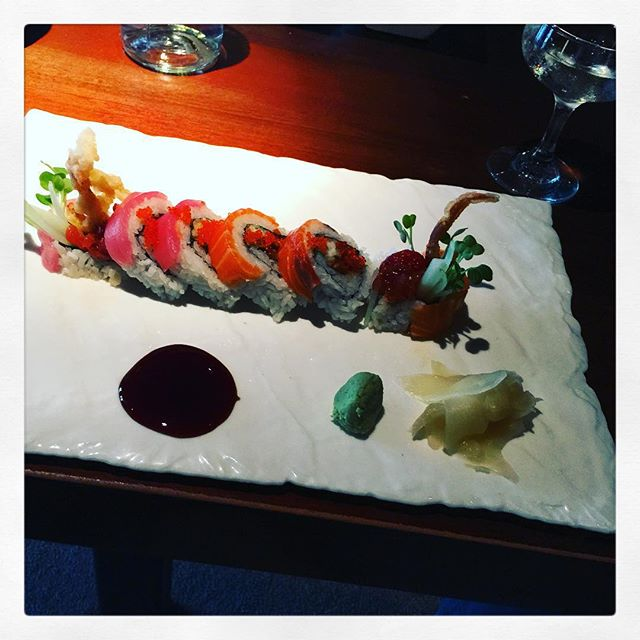 Japanese lunch in #SF–rare #Dassai sake to set the mood! #DateDiet