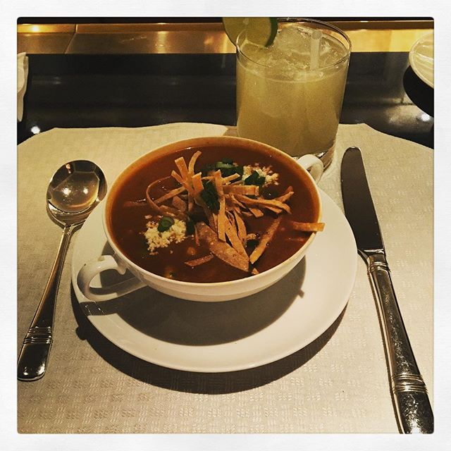 Tortilla soup! #DateDiet #Friday